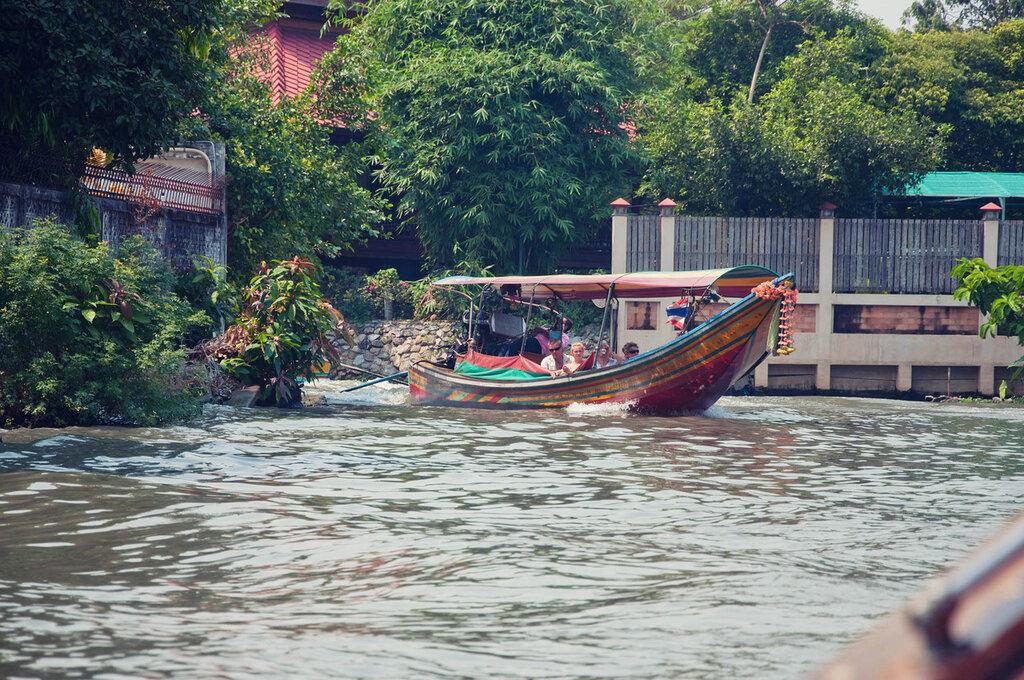 Бангкок, каналы