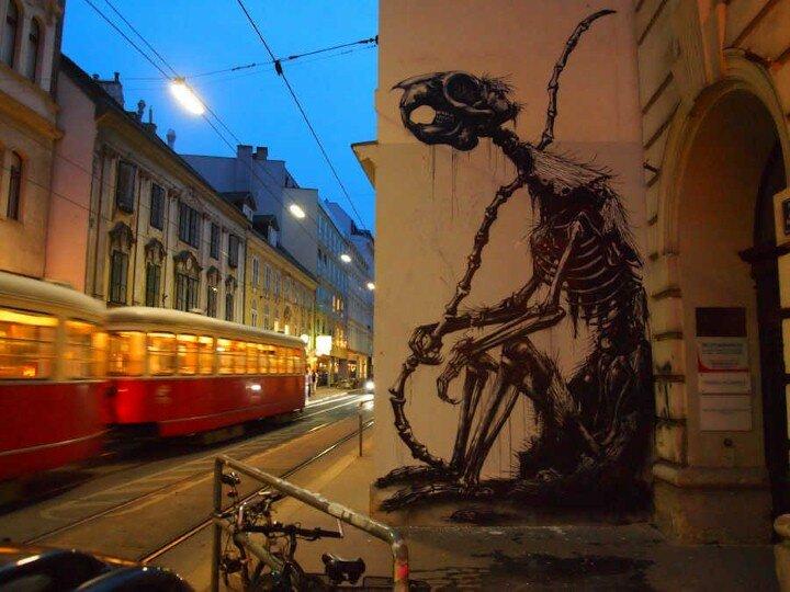 ROA. Уличный художник 12