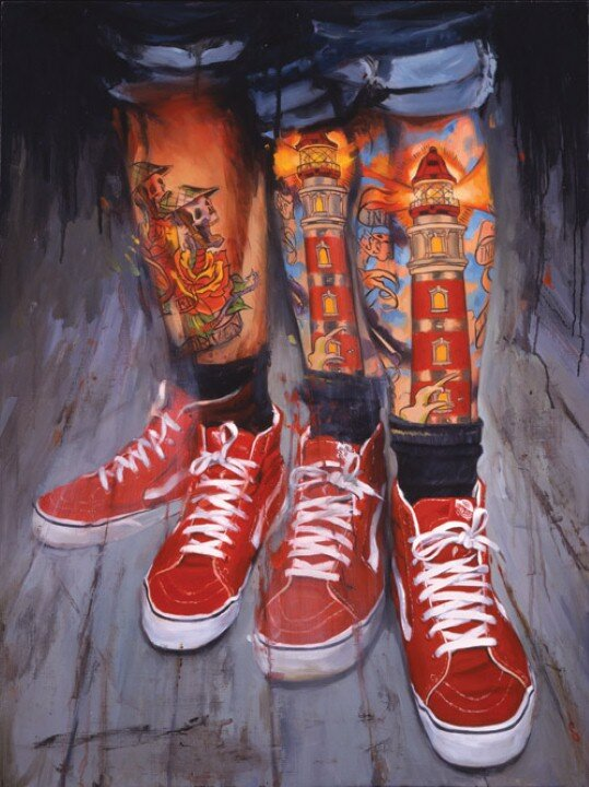 Shawn Barber. Татуированные картины 19
