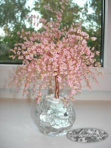 Бисероплетение деревья фото.