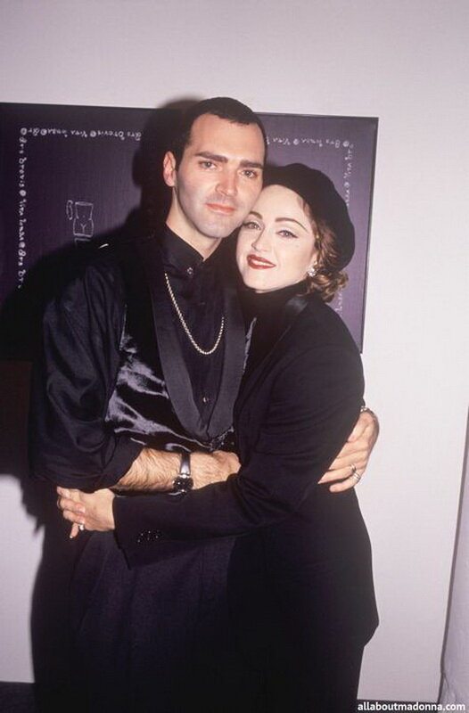 MADONNA AND HER BROTHER CHRISTOPHER CICCONE