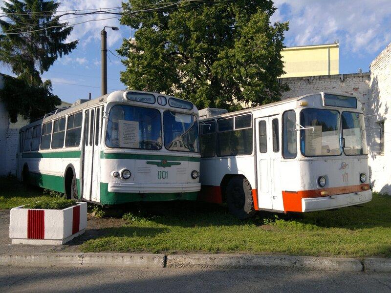 Исторические троллейбусы Чебоксар