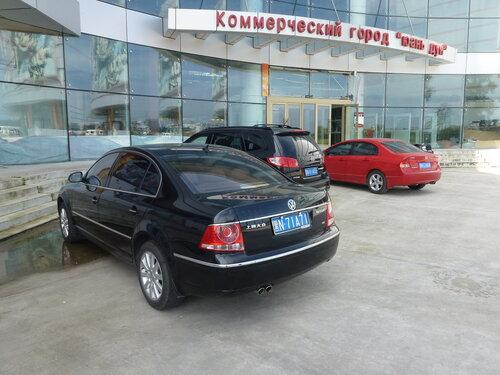 BMW китайского производства в Хэйхэ
