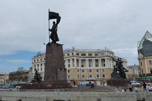 Достопримечательности Владивостока: памятник борцам за власть Советов