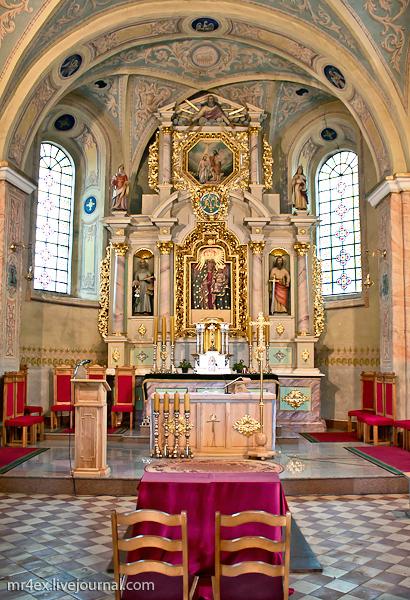 Камаи, костел Святого Иоанна Крестителя
