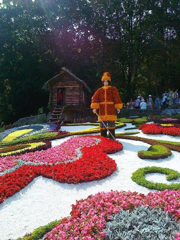 Иван Царевич из цветов