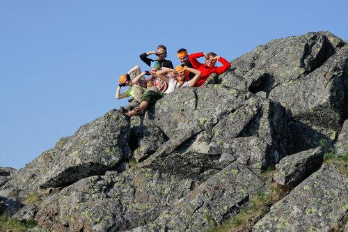 На высшей точке горы Третий Бугор