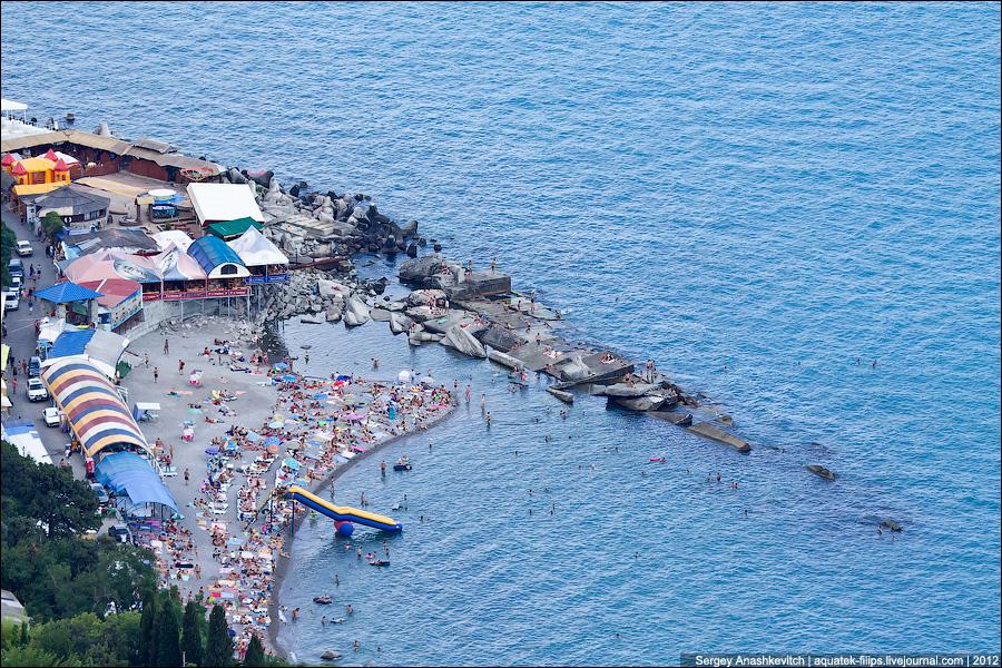 Пляжи ЮБК. @Сергей Анашкевич