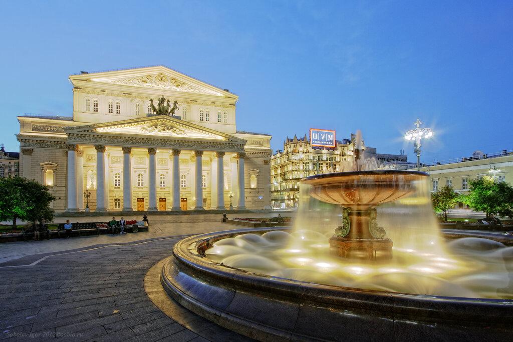 Экскурсия в большой театр в москве