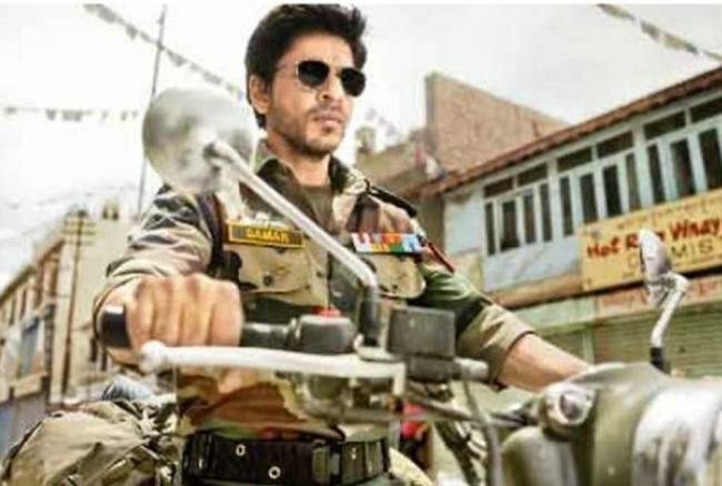 Shahrukh in Ladakh - Yash Chopra next movie