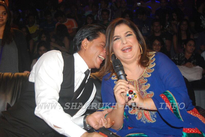 SRK & Farah Khan - Just dance finale show - 29 September 2011