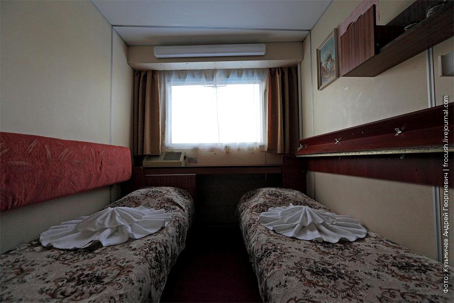 фотография каюты №1 теплоход Семен Буденный