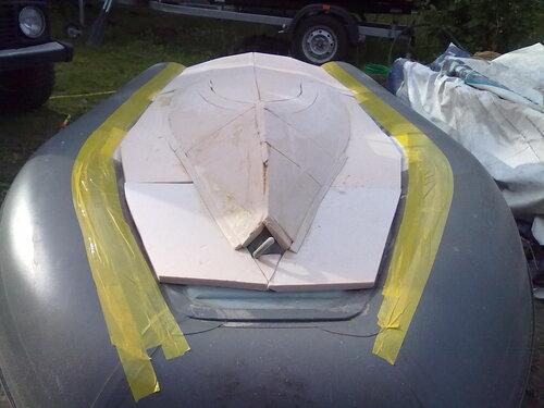 Лодка своими руками из экструдированного пенополистирола