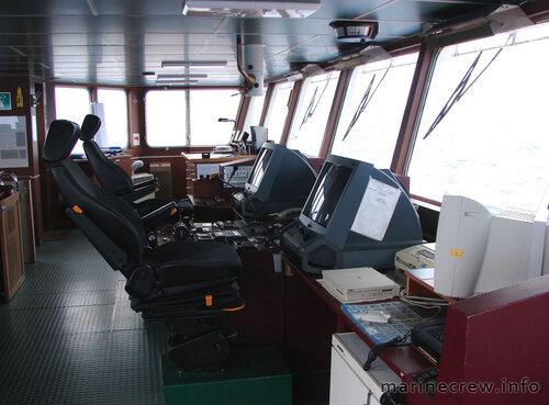 Ходовой мостик судна - 2