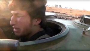 Террорист-смертник из Сирии заплакал перед своей кончиной