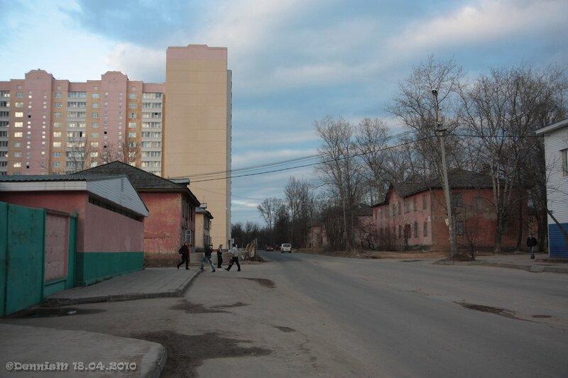 Фрязино, улица Горького.