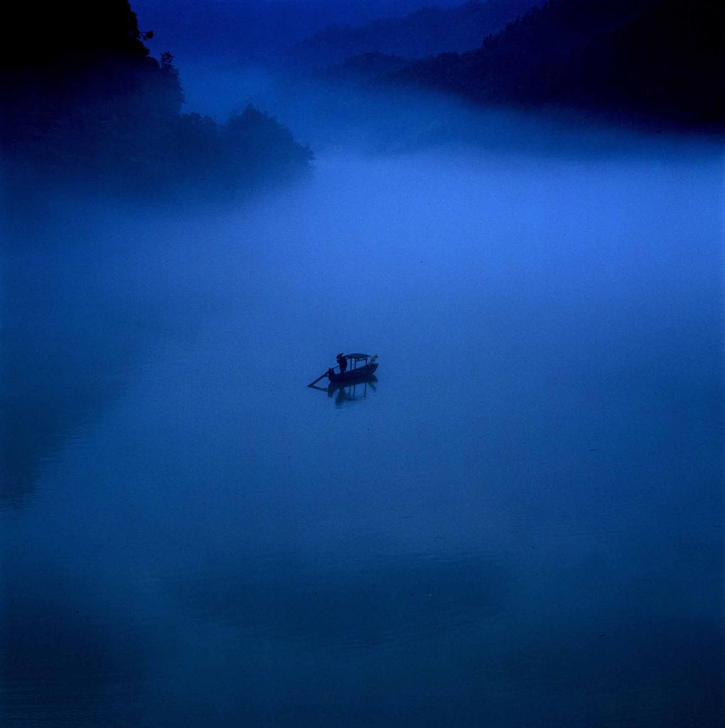 Китайские пейзажи. Фотограф Thierry Bornier
