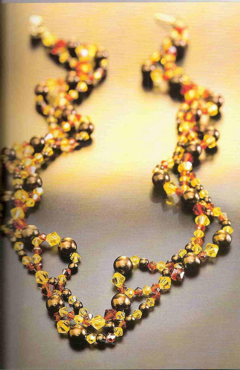 Плетение браслетов из бисера для самых самых начинающих Бисероплетение.