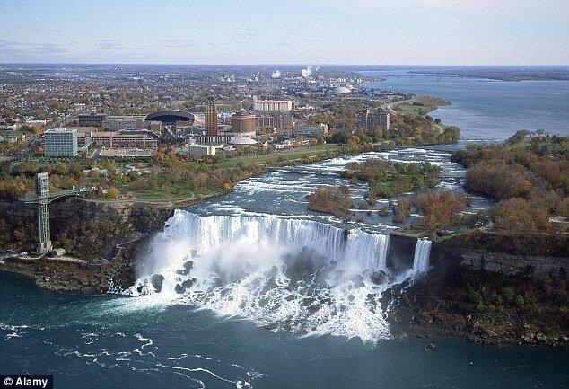 Больной водопад