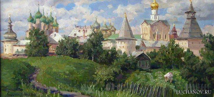 Полина Лучанова. Теплые картины 13