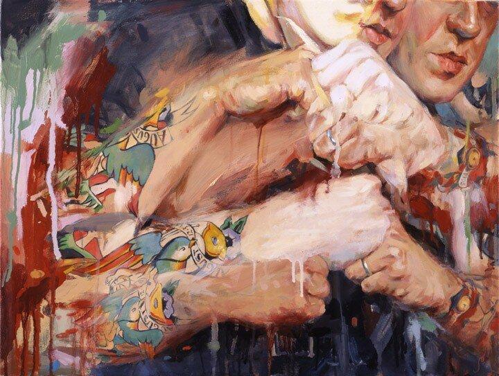 Shawn Barber. Татуированные картины 27