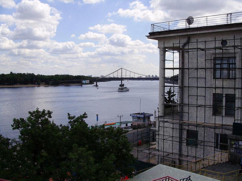 Днепр и речной вокзал - 11.08.2012