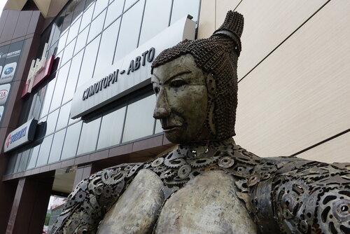 самурай у офиса Суматори