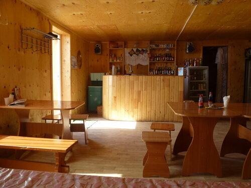 Кафе Омулёк внутри