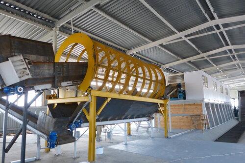 Мусоросортировочный завод в Копейске - грохот