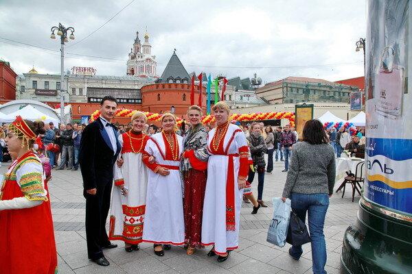 Кулинарный фестиваль 'Славянская трапеза', Москва, площадка возле Кремля, 01 сентября 2012 года