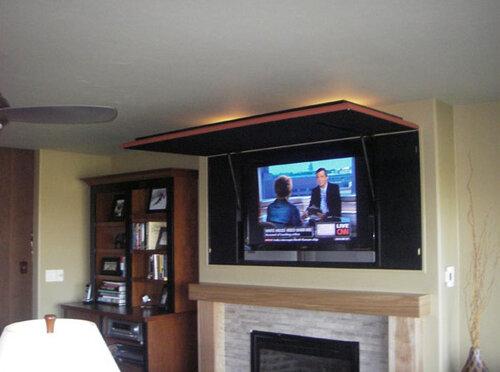 Оформление телевизора