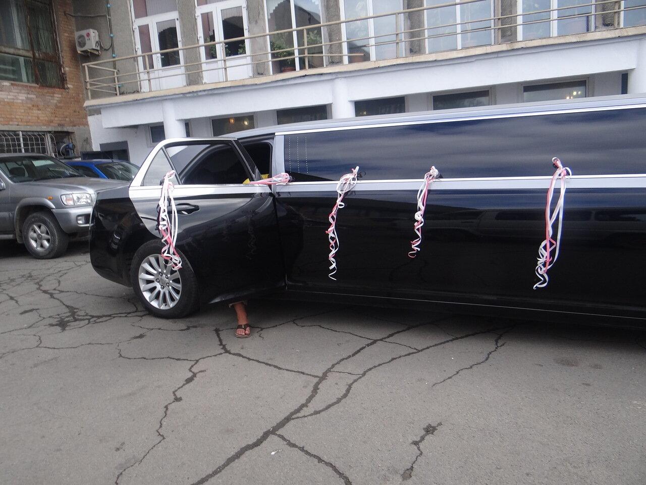 Владивосток. лимузин