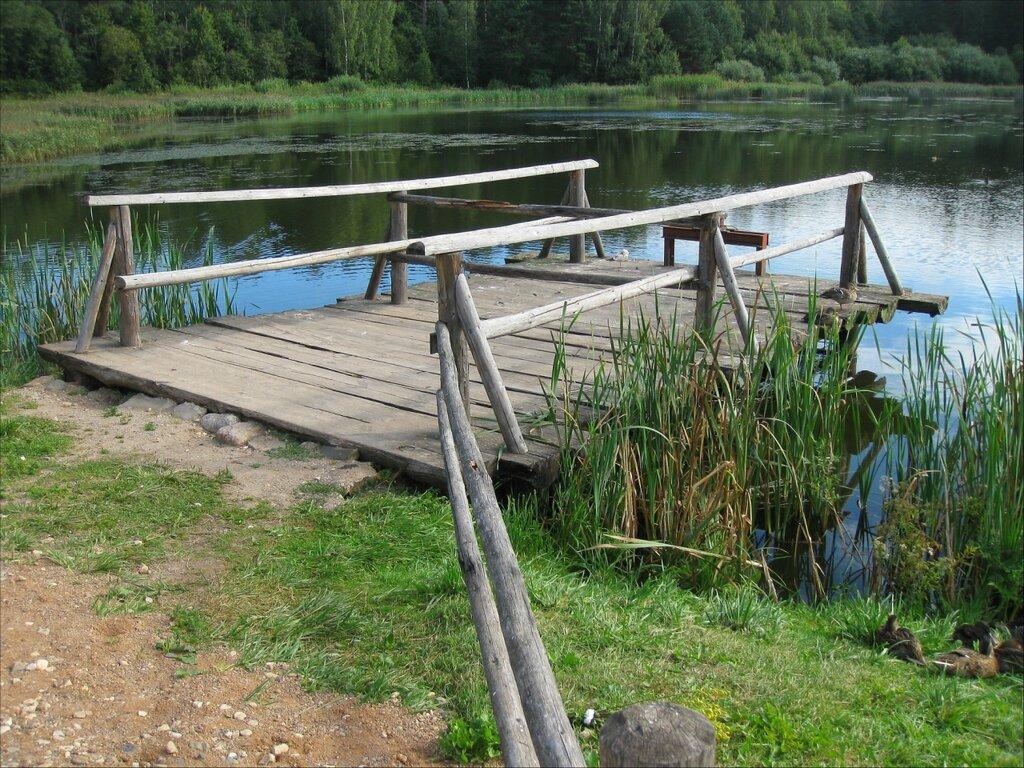 Пушкинские горы, Бугрово. Мельничная плотина