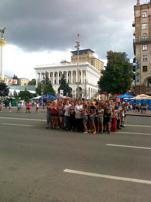 Команда Майданс-3 на Крещатике
