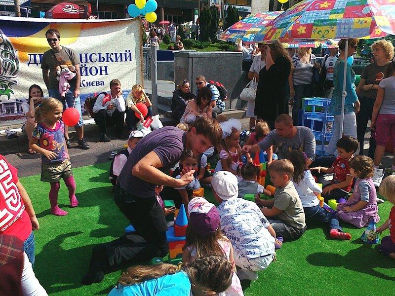 Детская площадка на Крещатике