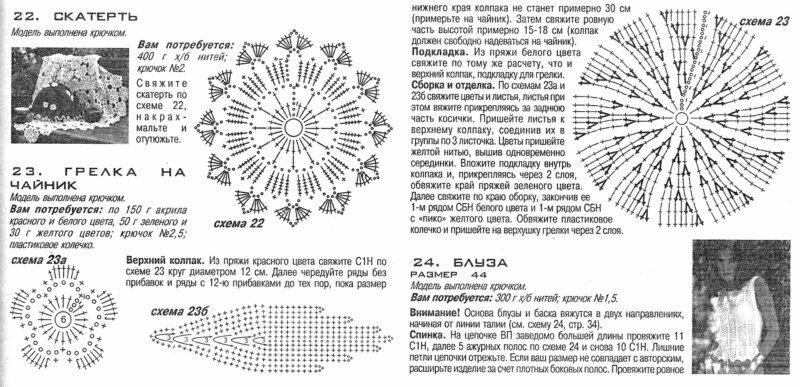 Чайник крючком схема и описание