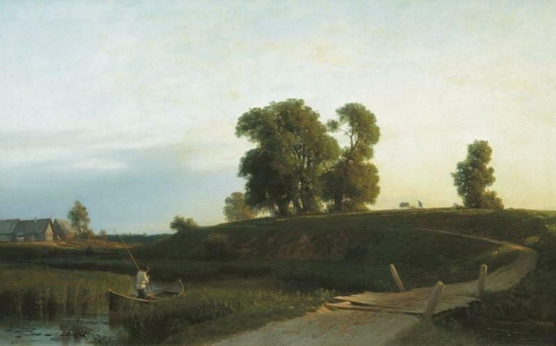 Лев Феликсович Лагорио. Вид на Лахте. 1850