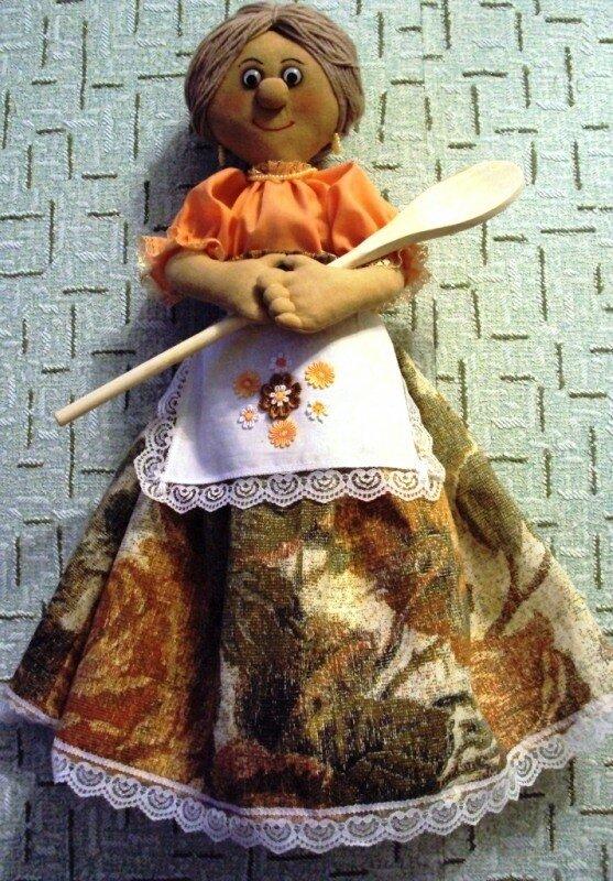 Кукла на руку своими руками фото