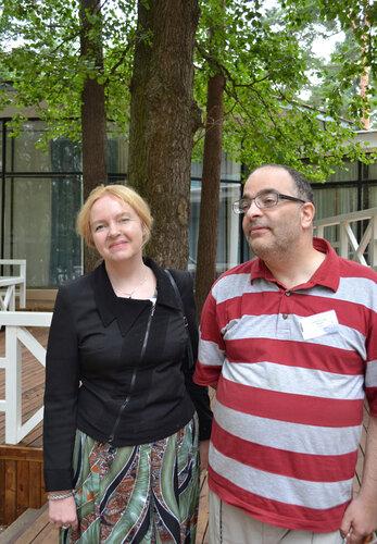 Вера Камша. Ассамблея-2012.  Фото с lawerta.livejournal.com