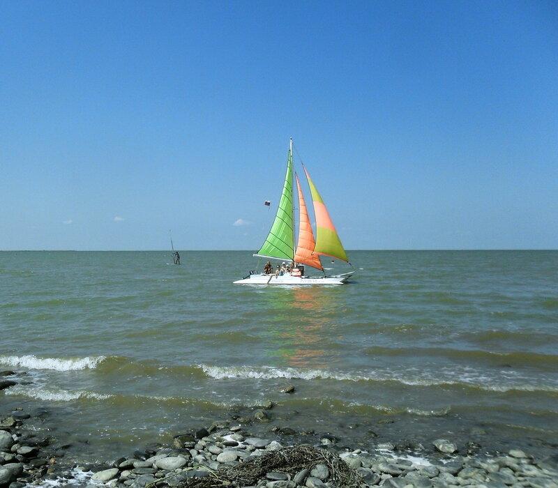 В море парус, август 2012