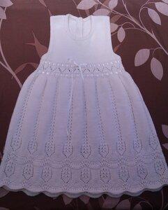 Beyaz bebek elbisesi örneği yeni