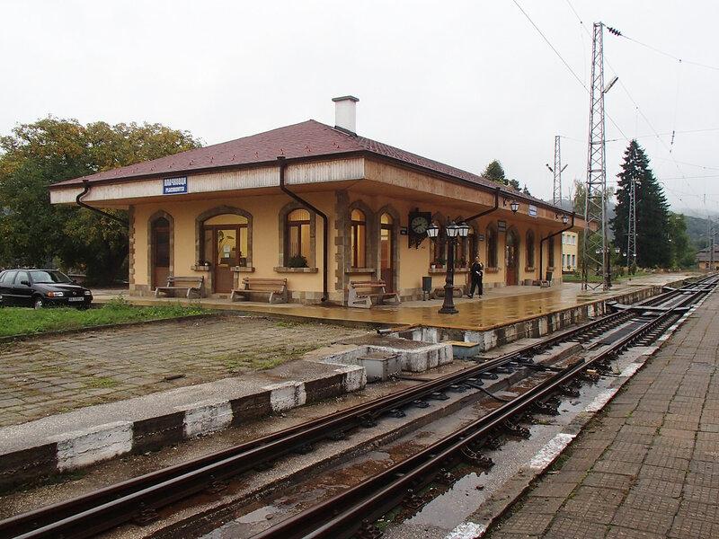 станция гара Плачковци