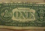 Банкнота из задницы