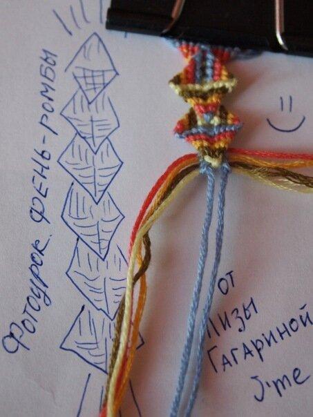 фенечки из мулине с именами лиза схемы - Практическая схемотехника.