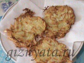 кабачково-картофельные оладьи