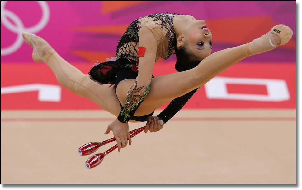 Женская гимнастика фото приколы