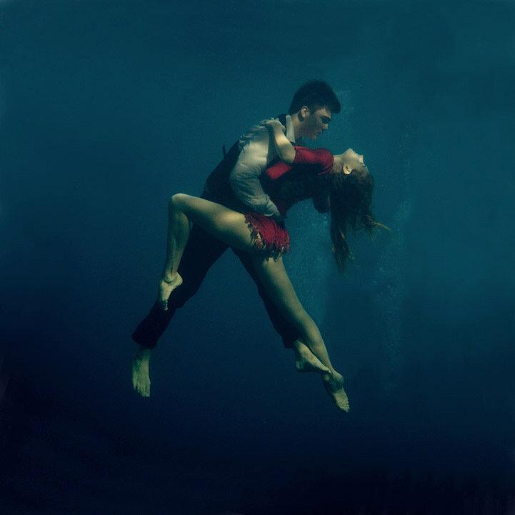 Танго под водой