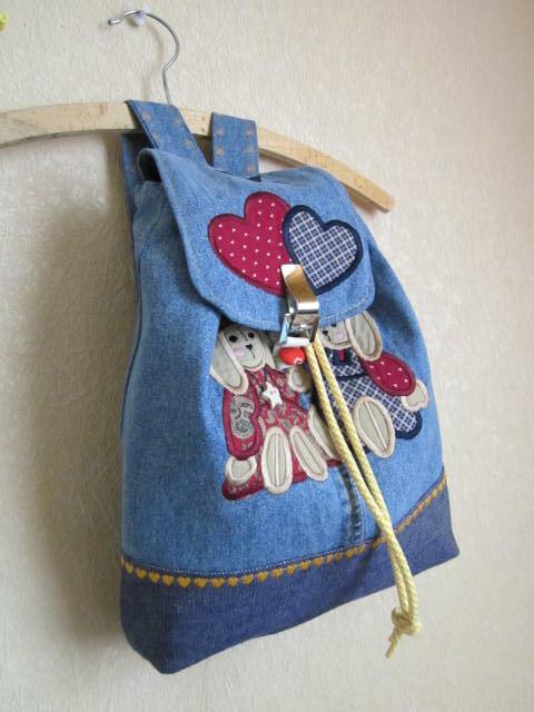 Мастер класс рюкзак для ребенка