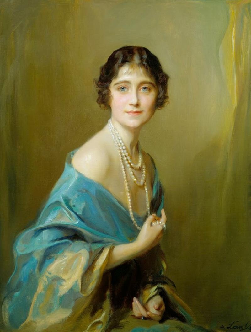 Queen Elizabeth (1900-2002), Philip de László, 1925