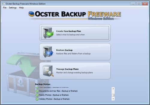 Программа для создания резервных копий файлов и папок